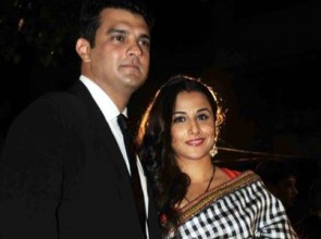Vidya Balan with husband Sidharth