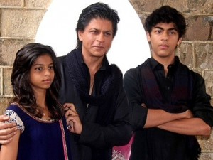 Shah rukh srk with children