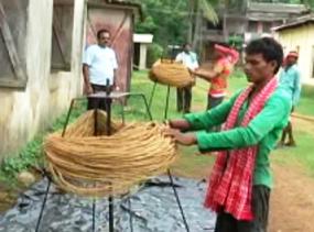 preparing ropes