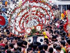 Pahandi Bije of Lord Jagannath