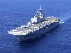 USS Bataan Warship