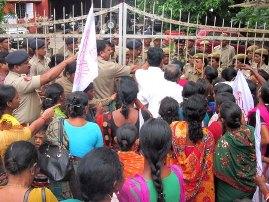 AIDWA protest over rape case