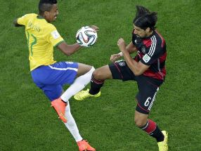 Germany vs Brazil (source :AP Photo)
