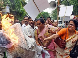 Angry protests against Mohanlalgunj murder