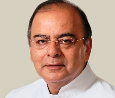 The official photograph of the Defence Minister, Shri Arun Jaitley.