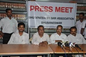 Bhubaneswar Bar Association ra press Conference