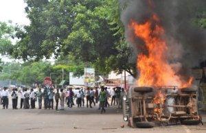 Bhubaneswar lawyers agitation
