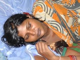 Anusmita Mallick, victim (Pic-Biswaranjan Mishra)