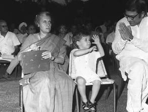 Congress chamchagiri SS Ray with Rahul Baby
