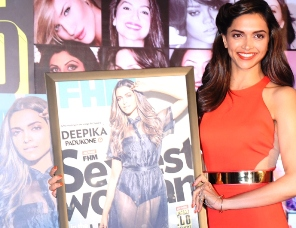 Deepika Padukone the winner of FHM sexiest women in the World 2014(2)