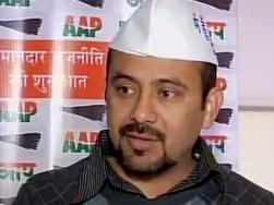 Dilip Pandey, AAP leader