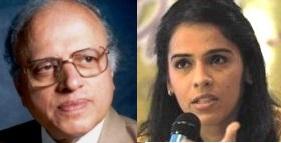 Dr Swaminathan & Saina