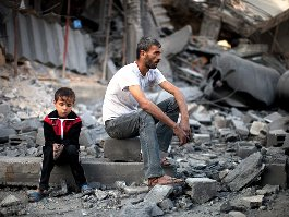Tell-tale pic from Gaza  ( source :nytimes.com)