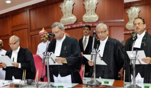 New HC judges taking oath ( pic- Biswaranjan Mishra)