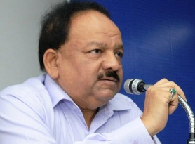 The Union Minister for Health and Family Welfare, Dr. Harsh Vardhan addressing at the release of the ?National Health Profile-2013? prepared by Central Bureau of Health Intelligence, in New Delhi on July 17, 2014.The Secretary, Ministry of Health & Family Welfare, Shri Lov Verma is also seen.