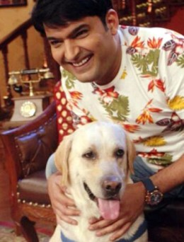 Kapil with Zanjeer ( source: indiatoday.intoday.in)