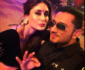 Kareena with YoYo