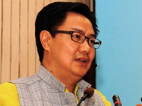 The Minister of State for Home Affairs, Kiren Rijiju