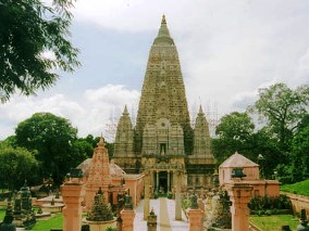 Mahabodhi Temple, Bodhgaya (source: ASI)
