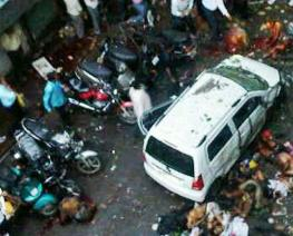 File pic of 2011 Mumbai blast