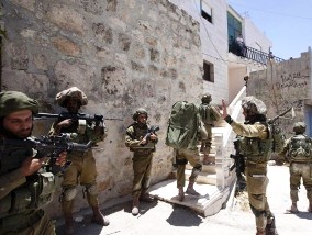 Operation by Israeli army ( photo credit- AP/Majdi Mohammed )