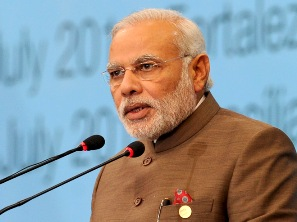 The Prime Minister, Narendra Modi addressing at the Plenary Session of the Sixth BRICS Summit, at Ceara Events Centre, in Fortaleza, Brazil on July 15, 2014.