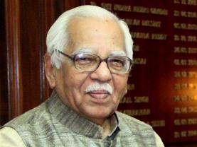 The Governor-Designate of Uttar Pradesh Ram Naik