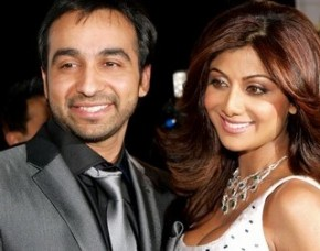 Shilpa with Raj ( sourced from Getty Images)
