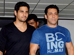 Sidharth with Salman (pic-Yogen Shah)