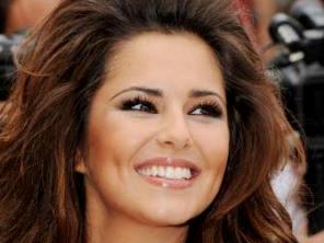 Singer Cheryl Cole smiling