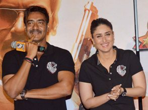 Singham Returns Ajay & Kareena Pic Yogen