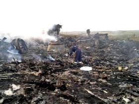 Site of Malaysian Airliner crash Reuter