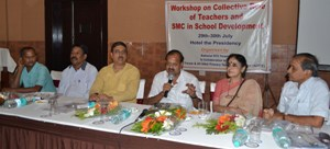 WORKSHOP ON COLLECTIVE ROLE OF TEACHERS AND SMC IN SCHOOL DEVELOPMENT AT HOTEL PRESIDENCY (2)