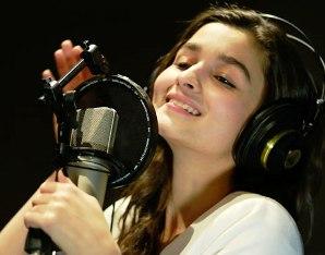 Alia Bhatt, the Singer
