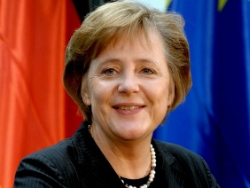 German Cahncellor Angela Merkel.
