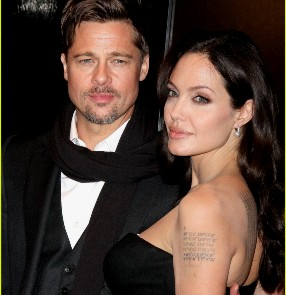 Brad Pitt- Angelina Jolie ( file pic)