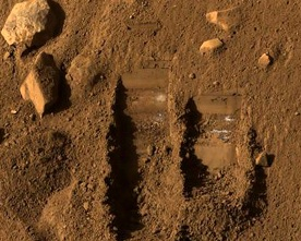 Earth-like soil on Mars ( source-sanfranciscosentinel.com)