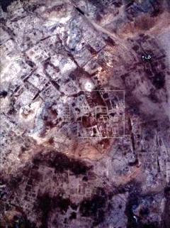Aerial view of ruins ( source: efe.com)