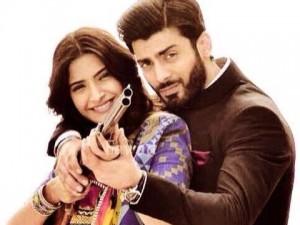 Fawad with Sonam