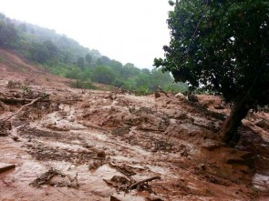 Landslide was triggered by heavy rains