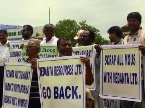 Anti Vedanta protest