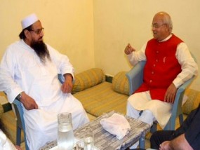 Vaidik meeting Hafiz Saeed