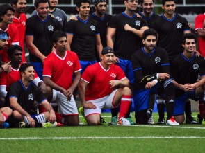 Aamir in charity football match