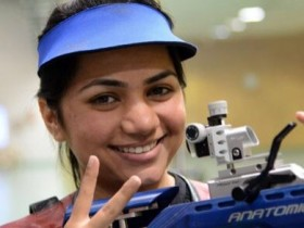 Apurvi Chandela Shooter ( sourced from thehindu.com)