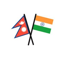 india-nepal-flag