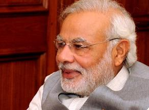 Kerala Governor Sheila Dixit and Prime Minister Narendra Modi during a meeting in New Delhi on July 9, 2014.