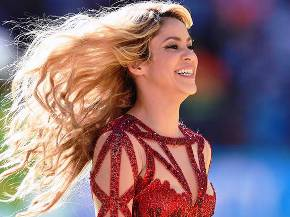Shakira at World Cup ( Getty Image)