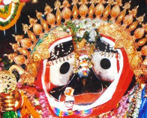 Suna Vesha or Golden Attire of Lord Jagannath (pic-Biswaranjan Mishra)