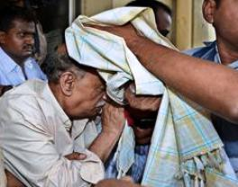 N. Prabhakar Rao being arrested by Odisha police ( source: thehindu.com)