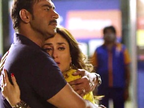 Ajay, Kareena in Singham Returns